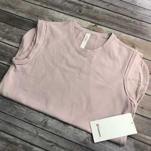 New Lululemon All Time Tank in Porcelain Pink